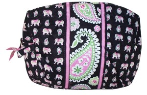 Vera Bradley Vera Bradley Pink Elephant Large Cosmetic NWT Sold Out Retired
