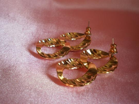 Laura Gayle New LAURA GAYLE Gold Plated Earrings