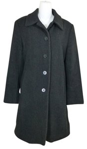 Jones New York Winter Warm Herringbone Pea Coat