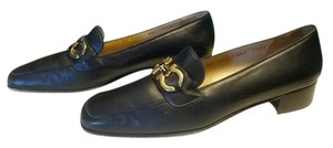 Salvatore Ferragamo Blue/Navy Flats