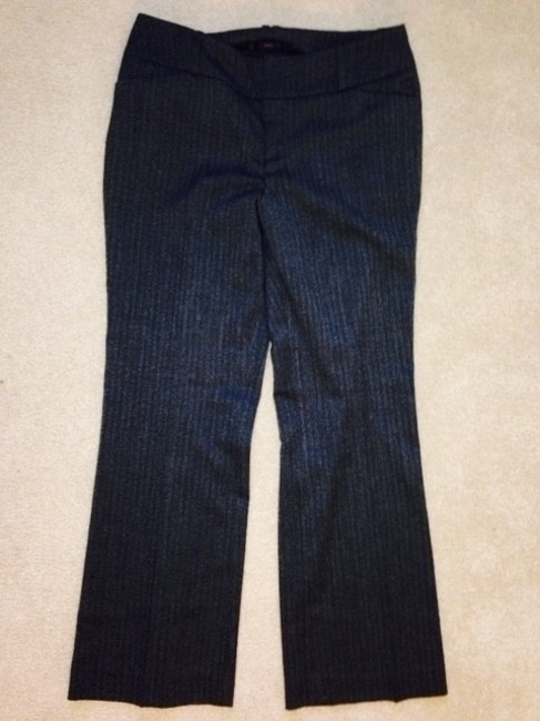 Mossimo Supply Co. Straight Pants Black/White