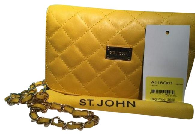 Item - Lemon Leather Shoulder Bag