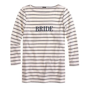J.Crew Striped Bride Sailor Tee