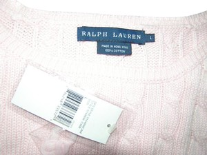 Ralph Lauren Knit Cable Cami Top Pink