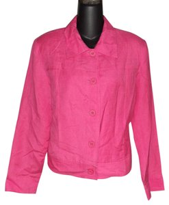 JG Hook Bright Size 10 Petite Pink Jacket