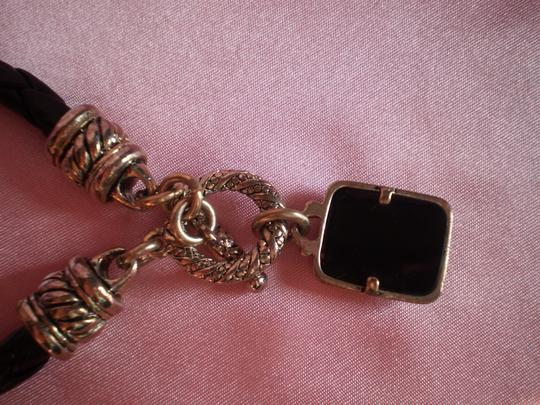 Other Like New Leather w/Charm Bracelet