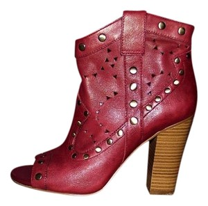 BCBGeneration Western Summer Designer Sexy Night Out Red Boots