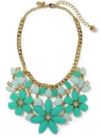 Kate Spade NWT Kate Spade Gardens of Paris Statement Necklace MSRP$228 12K Gold Plate