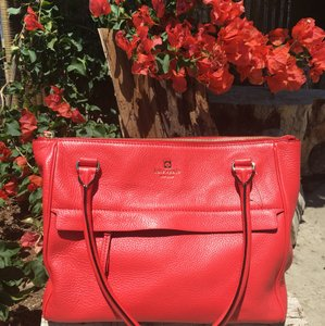 Kate Spade Satchel in Dark Orange