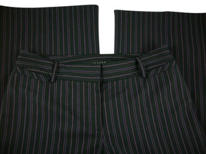 Apostrophe Flare Pants Black Striped