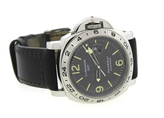 Panerai Panerai Luminor GMT Stainless Steel Sweep Second OP 6505 44mm Watch PAM 63