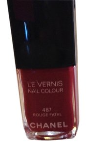 "Chanel Chanel ""rouge fatel"" color nail polish"