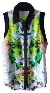 Prabal Gurung Sleevel Sleeveless For Target First Date Print Pattern Top