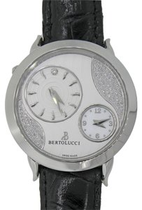 Bertolucci Bertolucci Montre quartz Volta Stainless Steel Silver Diamond Dial 42mm Watch 1213
