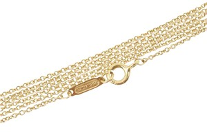 Tiffany & Co. Tiffany & Co 18K Yellow Gold Chain Necklace 30.5