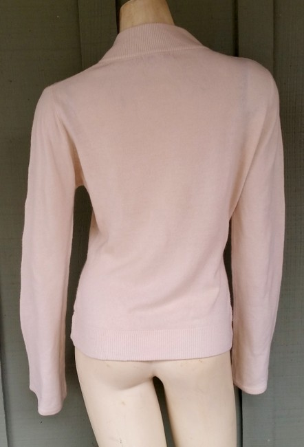 7 For All Mankind Knit Bell Sleeves V-neck Embroidered Sweater