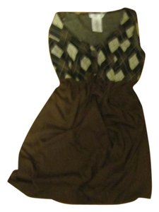 Rocket Girl short dress Brown/Tan Mini on Tradesy