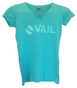 Next Level Apparel T Shirt Turquoise