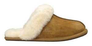UGG Boots Slippers Winter Chestnut Flats