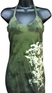 Hurley Womens Olive Sz S Green Halter Top
