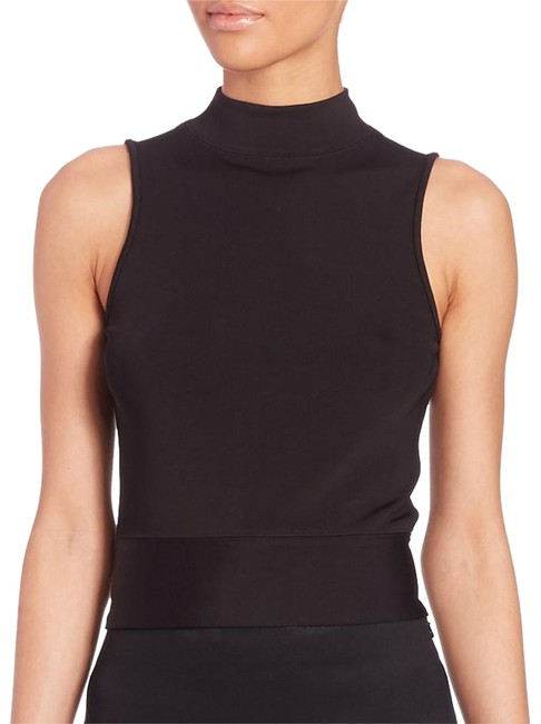 f5ce0d78ce94 Shoptagr | Lara Back Zip Sleeveless Turtle Neck Large Tank Top/Cami by Rag  & Bone