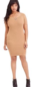 Forever 21 short dress Camel on Tradesy