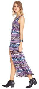 Rose/Blue Maxi Dress by Forever 21