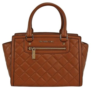 Michael Kors Tb Lv Coach Gucci Prada Satchel in Walnut