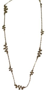PacSun Bronze Twisted Swirl Necklace