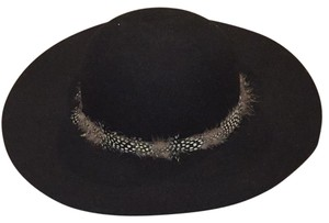 Forever 21 Black Feather Hat
