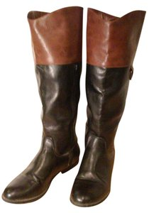 Merona Black/ Brown Boots