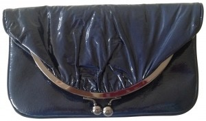 Hobo International Leather Navy Clutch
