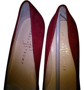 Ivanka Trump Suede Red Flats