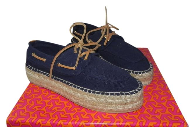 Item - Blue Blanton Espadrille Boat Platforms Size US 8 Regular (M, B)