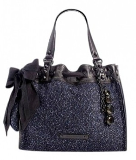 Preload https://img-static.tradesy.com/item/16682/juicy-couture-after-dark-daydreamer-black-wool-and-leather-satchel-0-0-540-540.jpg