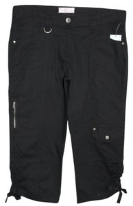 George & Martha Capris Black