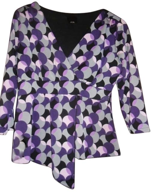 Preload https://item5.tradesy.com/images/jtb-multi-purple-grey-black-lavender-casual-to-night-out-blouse-size-10-m-166824-0-0.jpg?width=400&height=650