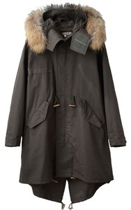 United Bamboo Edgy Parka Military Trench Coat