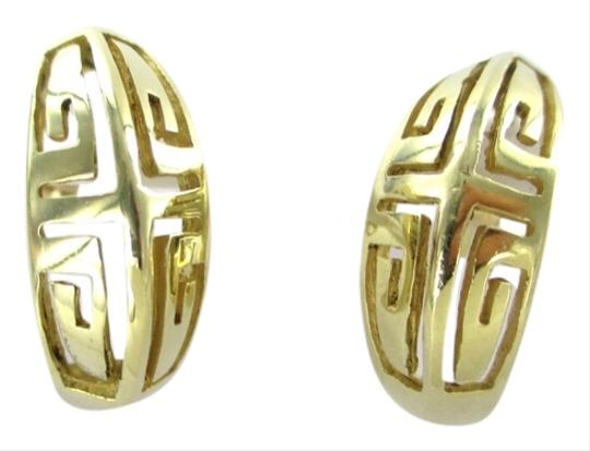 Other 18KT YELLOW GOLD DANGLE EARRINGS 4.8 GRAMS GREEK DESIGN FINE JEWELRY BOUTIQUE