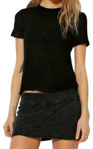 Urban Outfitters Mini Skirt Dark Gray
