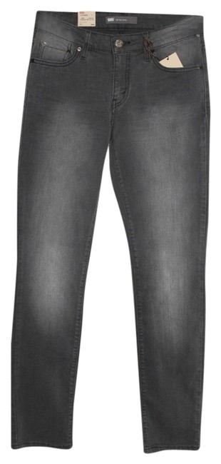 Item - Gray Medium Wash New with Tags Misses Midrise Skinny Jeans Size 32 (8, M)