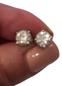 Tiffany & Co. ~ Tiffany & Co Diamond Earrings In Platium Setting