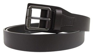 Gucci Dark Brown Leather Belt with Square Metal Buckle 105/42 353474 2140