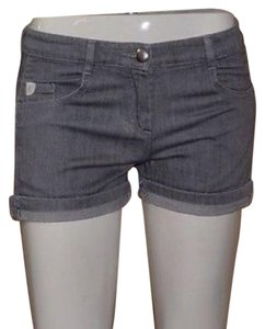 Chloé Cuffed Shorts Gray