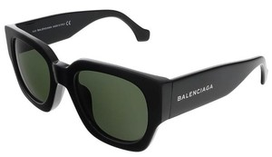 Balenciaga Balenciaga Shiny Black Square sunglasses