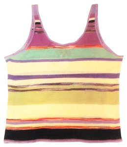 Missoni Vintage Striped Top multi-color