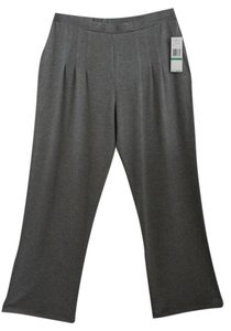 Jones New York Relaxed Pants Gray