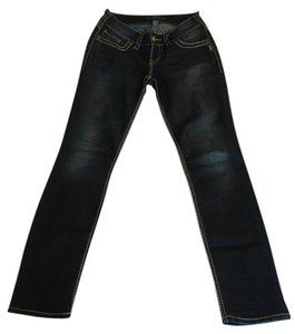 Silver Jeans Co. Straight Leg Jeans-Dark Rinse