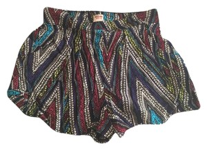 Mossimo Supply Co. Target Printed Rayon Dress Shorts Multi