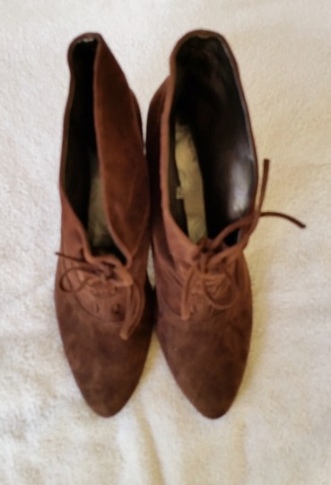 Calvin Klein Ankle Suede Brown Boots